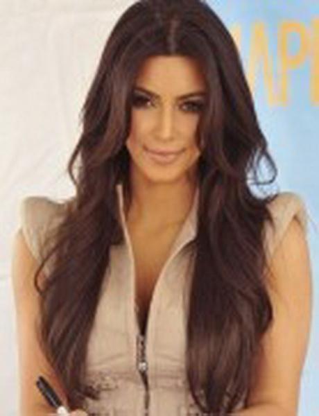 Kim kardashian haircut layers