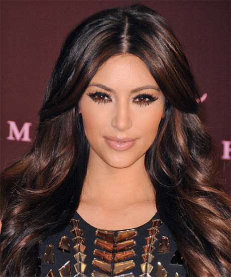 Kim Kardashian Haircut Long Layers
