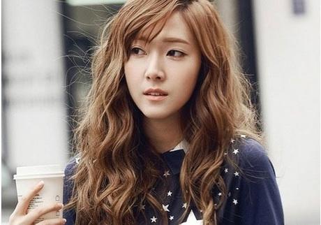 Korean Curly Hairstyles