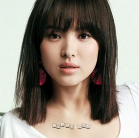 korean medium hairstyle