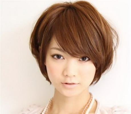 Korean Girls Short Haircut Style short hair style girls Women ...