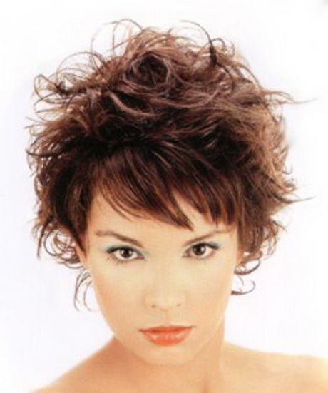 Katie Hill Salon Short Messy Ladies Haircut With Bangs Newhairstylesformen2014 Com