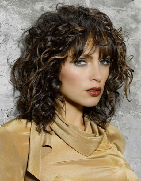Layered curls, how to
