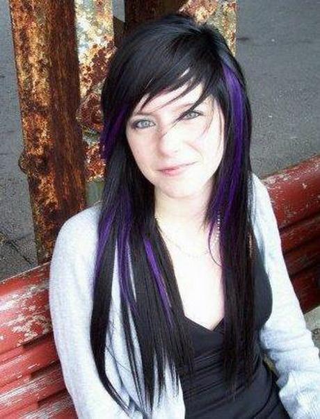 эмо прически для длинных волос видео