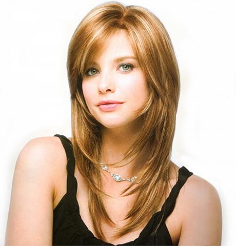 Layered Haircut Styles For Medium Length Hair