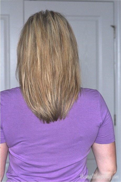 Medium Layered Hairstyles With Back View Back View Of