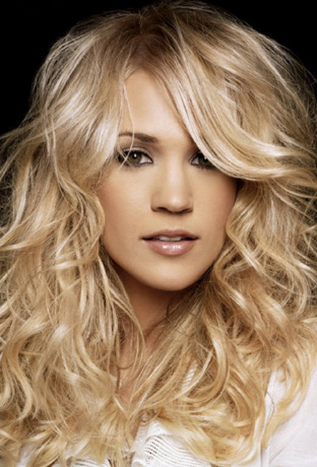 Hairstyles For Long Hair Wavy : Layered haircuts for long curly hair
