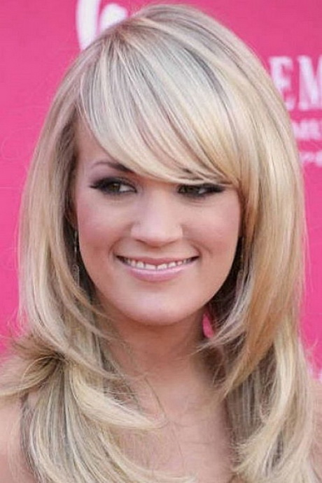 medium hairstyles for square faces : Layered haircuts for long faces