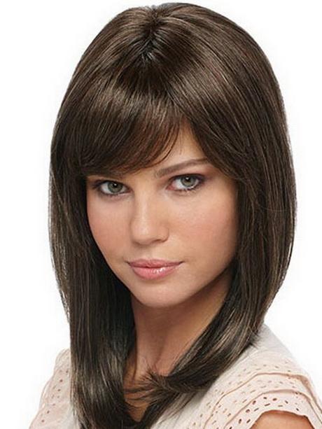 Layered haircuts for medium length hair with bangs Long Haircuts 2014 Trends With Bangs