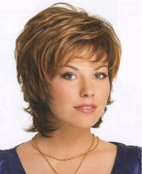 Women Over 50 | Latest Medium Short Length Layered Hairstyles Styles ...