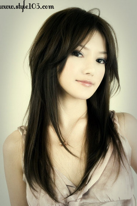 japanese mens hairstyles : long-layered haircuts for asian women 2014 ? Long haircuts for ?