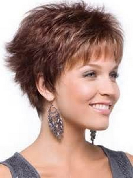 Short Layered Haircuts for Women Over 40 with Thick Hair
