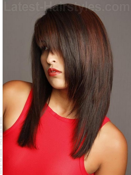hairstyles for long straight hair Pin It