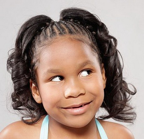 Little Girl Braids Hairstyles African American