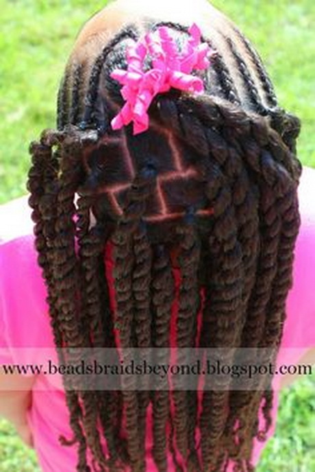 black relaxed hairstyles : beadsbraidsbeyond.blogspot.com. BEADS ?