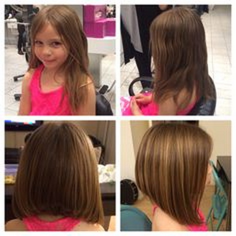 Lastest  Hairstyle For Little Girls As Well As Their Moms Is Cute Bob Haircut