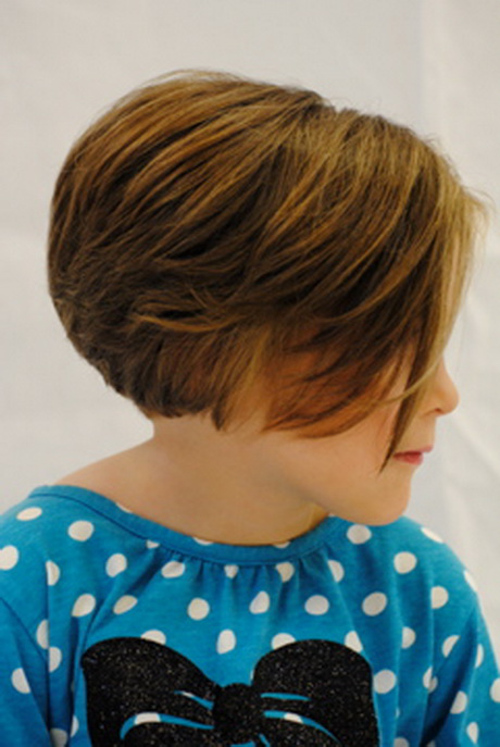 Little girl pixie haircut