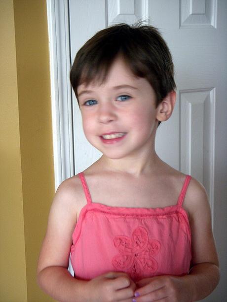 Little girls pixie haircut