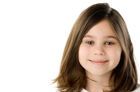 Amazing Long Layered Hairstyle For Little Girls
