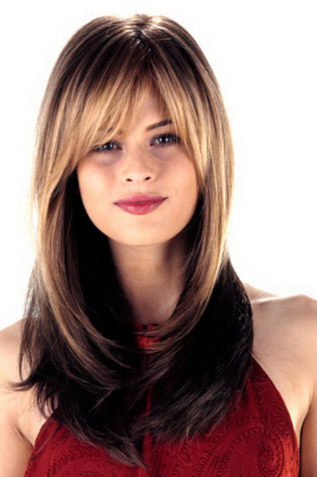 Long Hair For Round Faces : Long hair layered haircuts for round faces