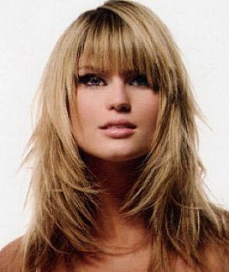 Long Hairstyles Layered Around Face