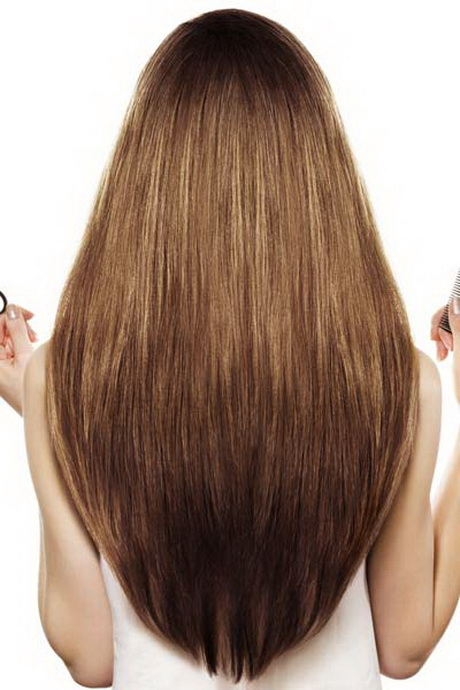 U Shaped Haircut For Medium Hair Long layered ha...