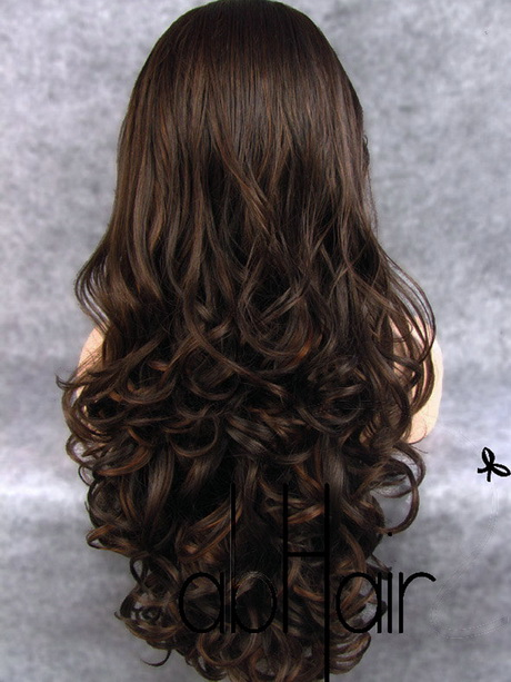 Long Layered Hair From The Back