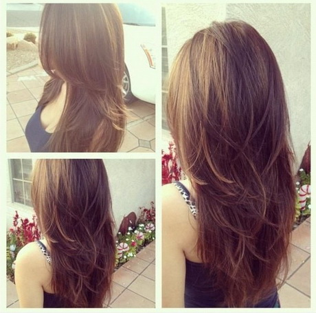 Hairstyles Long Hair Layers : long layered hairstyles back view