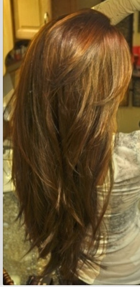 Hairstyles For Long Hair Layered Cuts : long straight layered haircuts back view rebecca for hair long