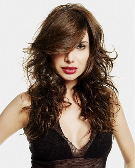 Hairstyles For Long Hair Curly Layers : Wavy or curly hair looks just as impressive when it comes to layering.