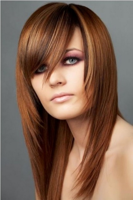 Long Layered Haircuts For Round Faces