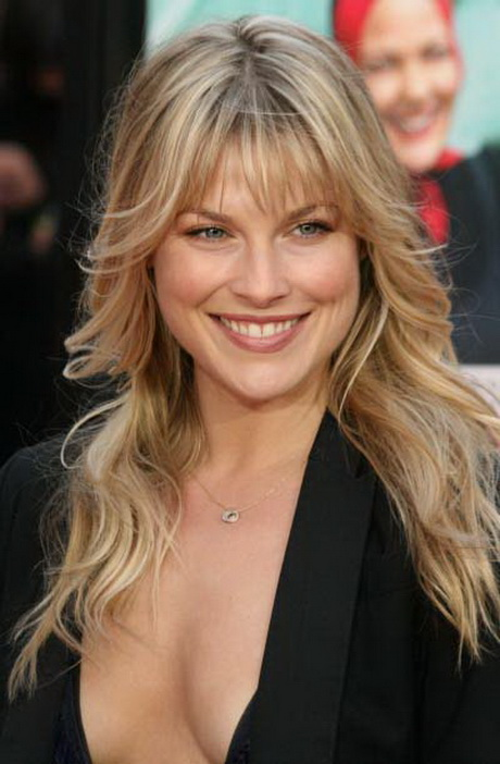 Hairstyles Long Bangs : Long Feathered Hairstyle Pictures LONG HAIRSTYLES