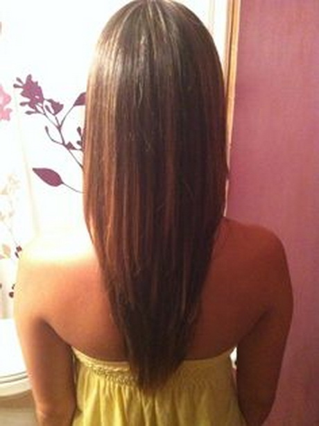 long layered haircut for thick hair cut in long distinct layers which ...