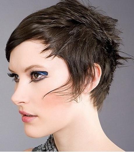 Ashley Simpson Long Face Shape Pixie Hair Style