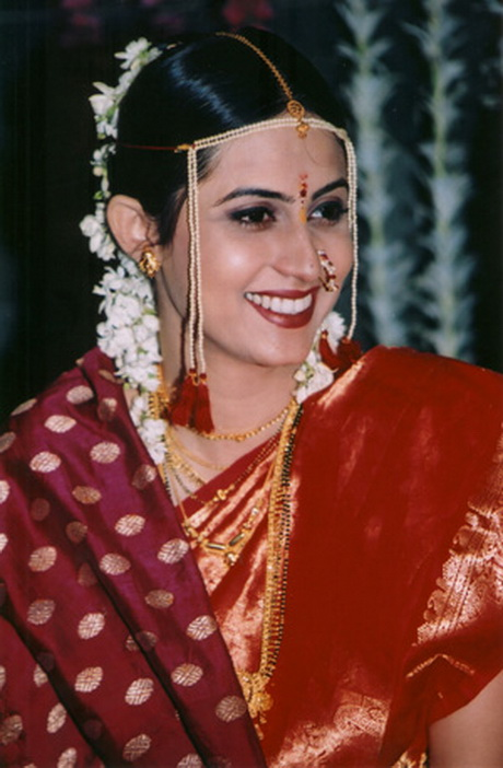 Maharashtrian Wedding Hairstyles For Long Hair | Top Hairstyles