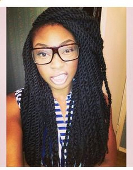 Marley Twist Braid Hairstyles