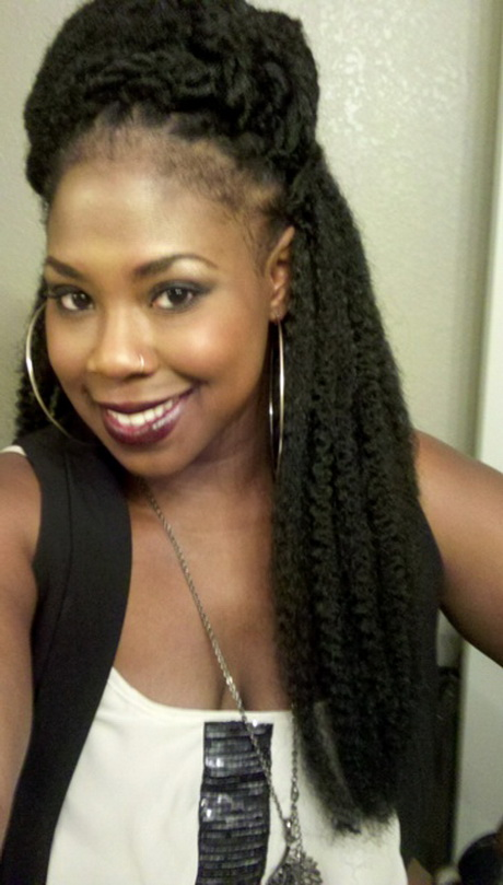 Marley braids hairstyles