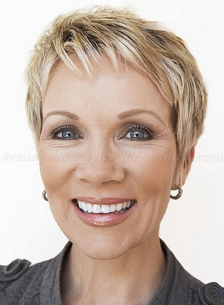 Mature Short Haircuts