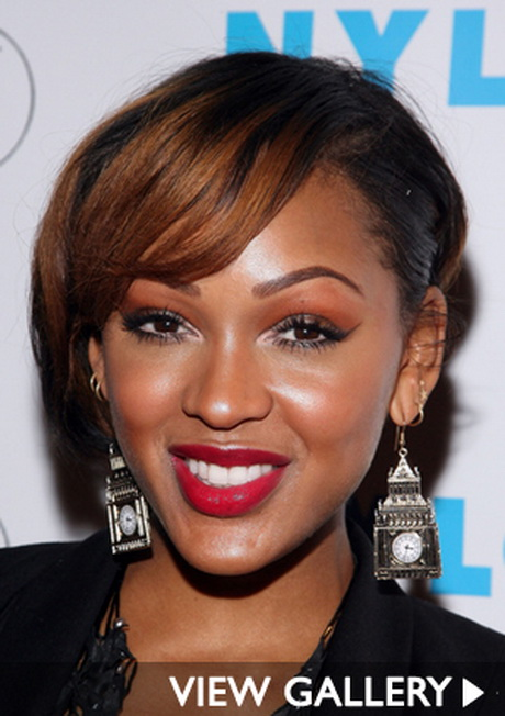 gossip girl hairstyles : Meagan good short hairstyles