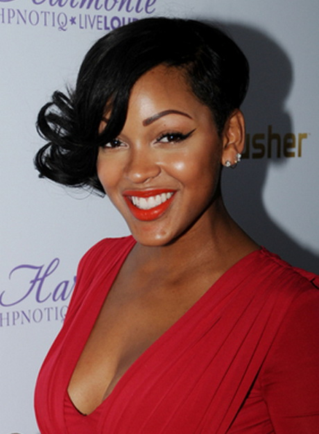 gossip girl hairstyles : Pics Photos - Images Of Meagan Good Short Hairstyles Photo