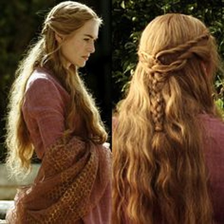 Cersei Hair: Simple and Cool Medieval Hairstyle. 34 11 middot; Pinned ...