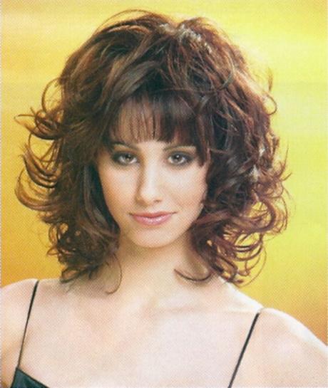 Medium Curly Layered Hairstyles