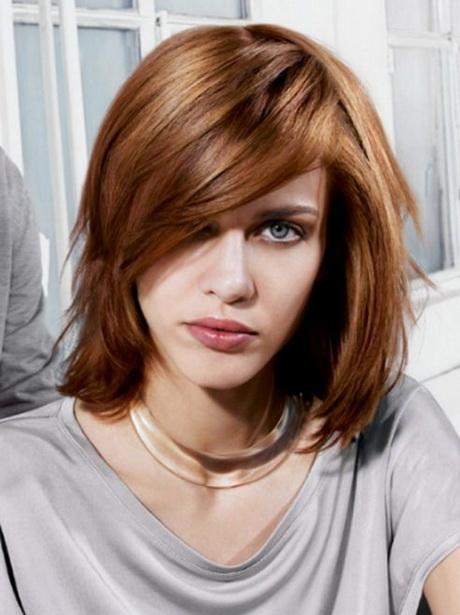 Medium Haircuts Round Faces