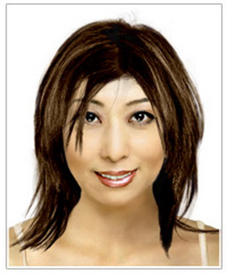 medium haircuts oblong medium hairstyles for oval faces