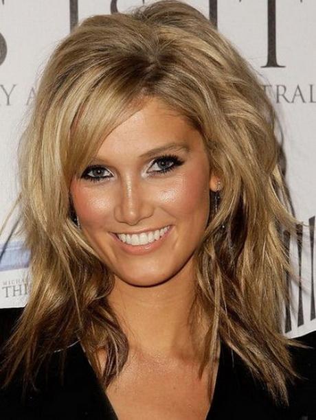Medium hairstyles layers
