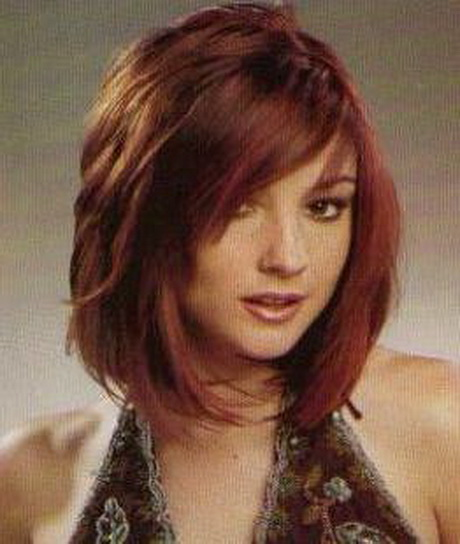 more layered medium haircuts with bangs medium layered haircuts with ...