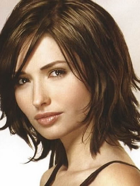 Brilliant  Mid Length Hair Medium Haircuts Medium Hairstyles Mid Length Bob Mid