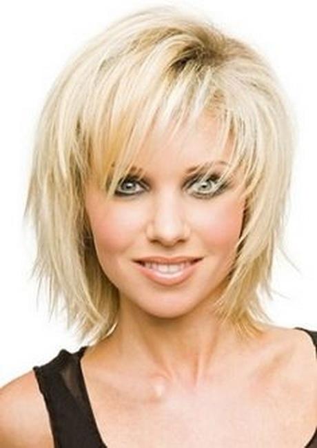Medium length haircuts for thin hair