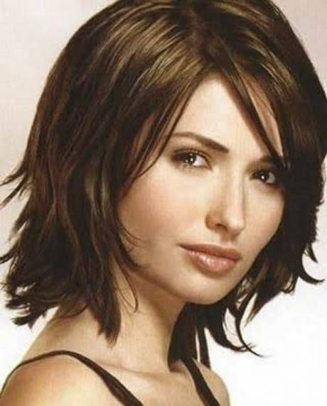 Fine hair medium hairstyles for mid length haircuts for thin hair