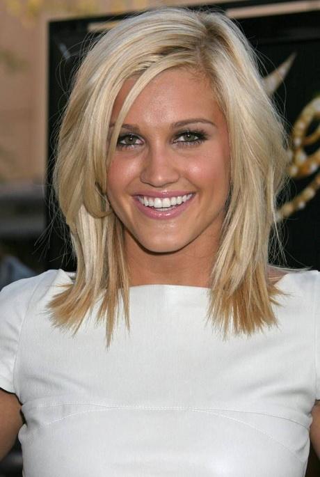 Medium Length Haircuts With Side Bangs